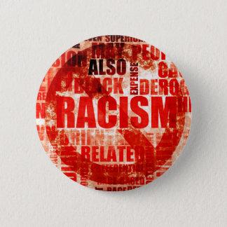 Het Racisme van het einde Ronde Button 5,7 Cm