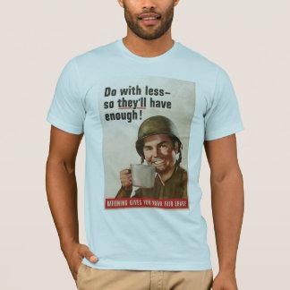 Het rantsoeneren Wereldoorlog II T Shirt