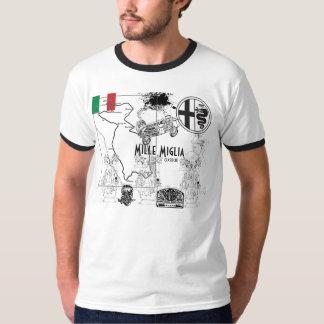 Het ras van Alfa Romeo Mille Miglia T Shirt