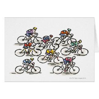 Het Ras van de fiets Briefkaarten 0