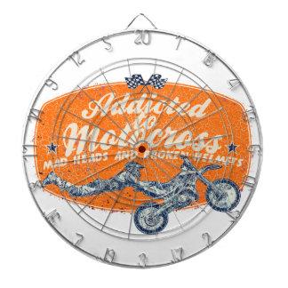 Het rasverslaafde van Moto Dartborden