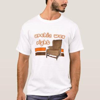 Het Recht van Archie Was T Shirt