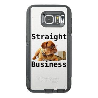 Het rechte Hoesje van de Commerciële Telefoon van
