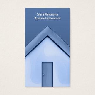 Het rechte Visitekaartje van het Huis Visitekaartjes