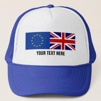 Het referendum BREXIT van de EU het UK het pet van