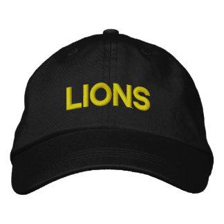 Het Regelbare Pet van leeuwen Geborduurde Pet
