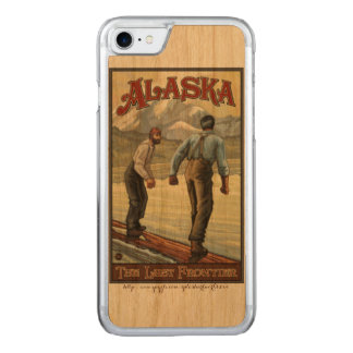 "Het ""registreren van Alaska "" Carved iPhone 8/7 Hoesje"