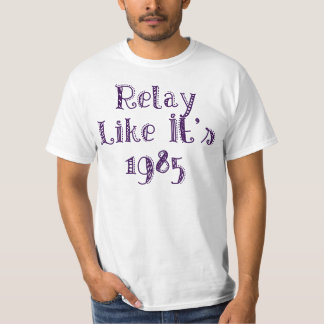 Het relais als het is 1985 t shirt