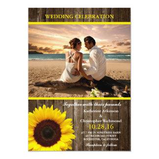 Het Relatie van de Liefde van het Strand van het 12,7x17,8 Uitnodiging Kaart