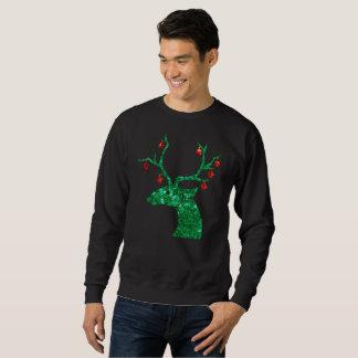 het rendier mannen sweatshirt van lovertjeKerstmis