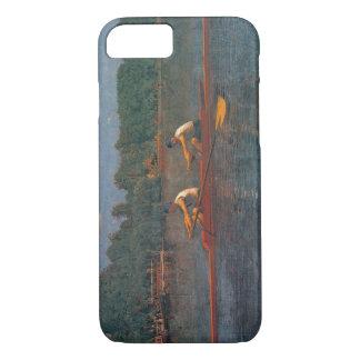 Het rennen Scull 1873 iPhone 7 Hoesje