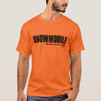 Het Rennen van de sneeuwscooter T-shirt