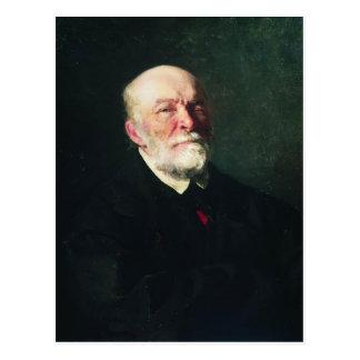 Het repin-Portret van Ilya van de Chirurg Nikolay Briefkaart