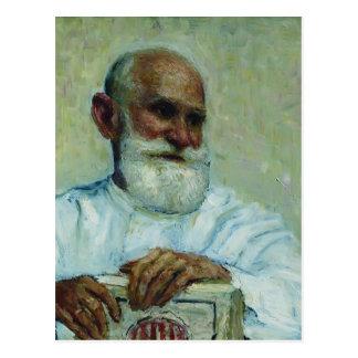 Het repin-Portret van Ilya van fysioloog Ivan Briefkaart