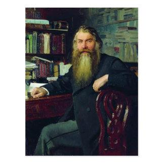 Het repin-Portret van Ilya van historicus & Briefkaart