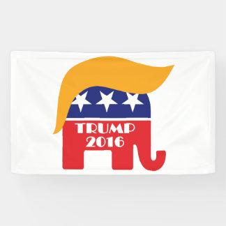Het Republican Elephant Hair Logo van Donald Trump