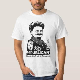 Het Republikeinse Overhemd van de Stem van Trotsky T Shirt