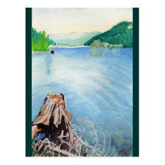 Het Reservoir van Oak Ridge #4 Briefkaart