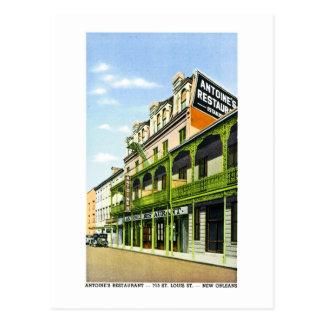 Het Restaurant van Antoine, New Orleans, La Briefkaart