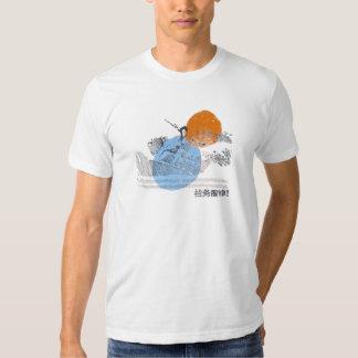 Het Retro Vintage Surfen Tshirt