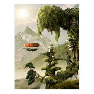 Het reuze Briefkaart van de Fantasie van de Wilg