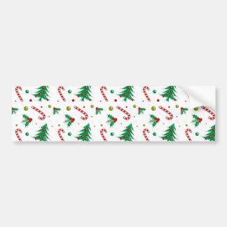 Het Riet, de Maretak, en de Kerstbomen van het Bumpersticker