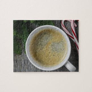 Het Riet van de koffie en van het Snoep voor het Foto Puzzels