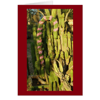 Het rietcactus van het snoep kaart