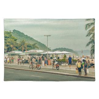 Het Rio de Janeiro Brazilië van de Stoep van Placemat