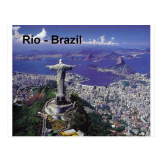 Het Rio de Janeiro van Brazilië (St.K.) Briefkaart