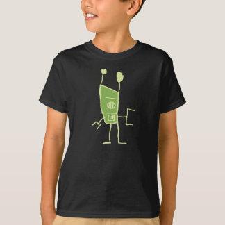 Het robot-Green van de groef T Shirt