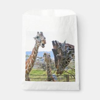 Het roddelen de Zakken van de Gunst van Giraffen Zakje 0
