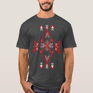 Het rode Amazigh Man van de ontwerpT-shirt T Shirt