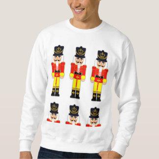 Het rode Basis Witte Sweatshirt van Kerstmis van