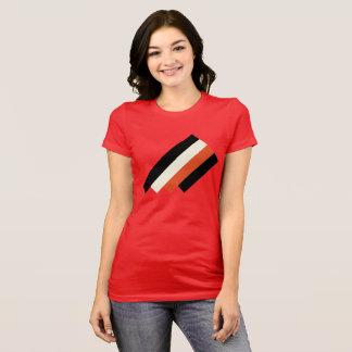 Het rode Blok T van Geo T Shirt