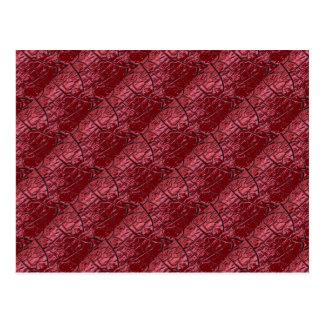 Het rode Briefkaart van de Schalen van de Draak