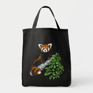 Het rode Canvas tas van de Panda