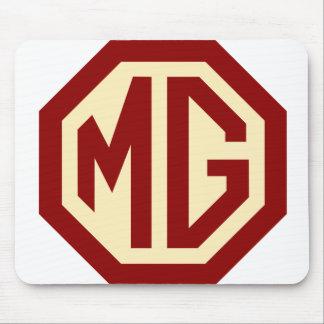 Het rode en Gouden Logo Mousepad van MG Muismat