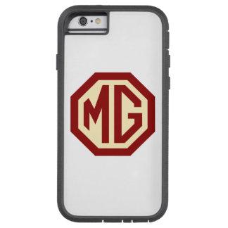 Het rode en Gouden Logo van MG Tough Xtreme iPhone 6 Hoesje