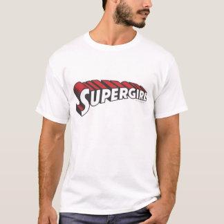 Het Rode en Witte Logo van Supergirl T Shirt