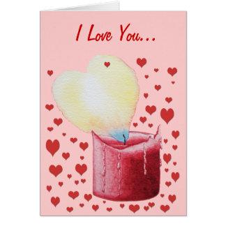 het rode hart gestalte gegeven de kunst van de briefkaarten 0