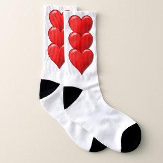 Het rode hart van de Liefde Sokken