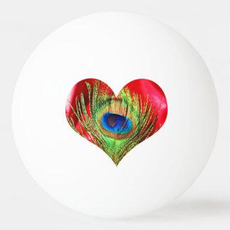 Het rode Hart van de Pauw Pingpongbal