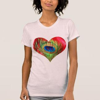 Het rode Hart van de Pauw T Shirt