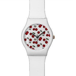 Het Rode Horloge van de Ontwerper van Kersen RAB R