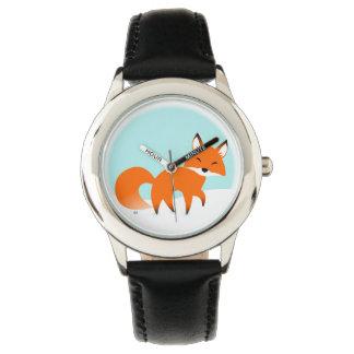 Het rode Horloge van de Vos