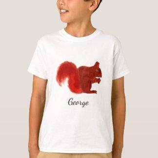 Het rode Leuke BosDier van de Eekhoorn T Shirt