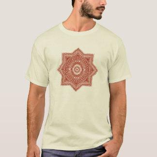 Het rode Marokkaanse Patroon T Shirt