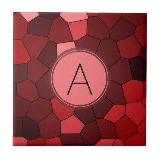 Honingraat patroon tegeltjes honingraat patroon keramische tegeltjes - Rode mozaiek tegel ...