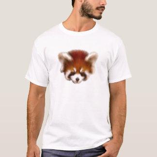 Het rode Ontwerp van de Panda T Shirt